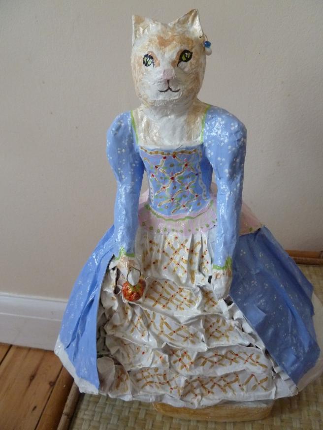 cat in costume