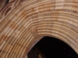 stonework arch